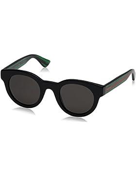 Gucci Occhiali da sole GG0002S BLACK, 46