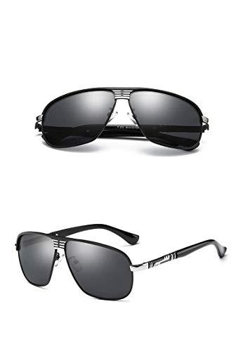 KJDFN Sonnenbrillen Polarisierte Sonnenbrillen Fashion Driving Square Sonnenbrillen Trend
