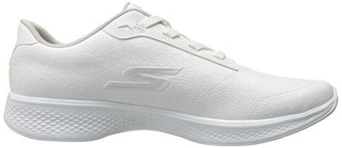 Skechers Ladies Go Walk 4-premier Sneakers White (wsl)