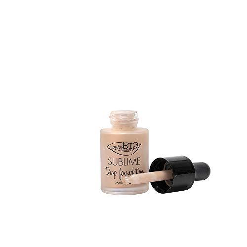 PuroBio Sublime Drop foundation Fondotinta fluido Anti-Pollution 15 ml colore 2