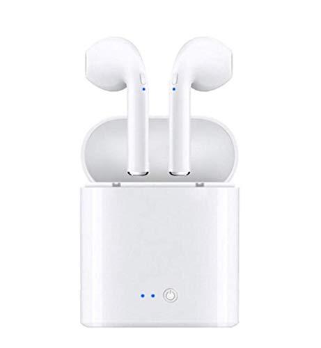 MM Mini Auricular Inalámbrico Bluetooth, Auriculares Deportivos Bluetooth Estéreo Inalámbrico Multi-Función En La Oreja Auriculares Recargables Bluetooth