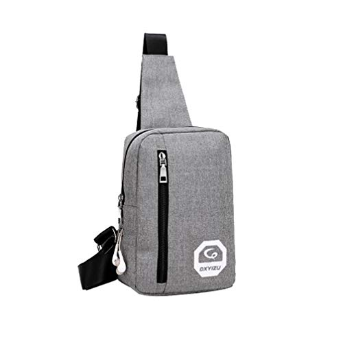 Bfmyxgs Mother es Day Chest Bag für Portable Headphone Plug Casual Sports Rucksack Shoulder Bag Totes Rucksack Shoulder Bag Handtasche Totes Waist Bag Bag Tasche Tasche Brustpaket