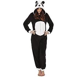 Lounge Able, mujer Luxus 3d Animales todo en un Jumpsuit Einteiler panda 36