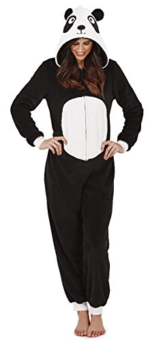 Womens Onesie Loungeable Ladies Pyjamas 3D Ears All In One Sleepsuit Test