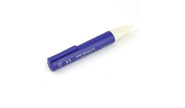 frYukiko Digital Electric Voltage Detector Non-Contact 90~1000V AC Tester Test Meter Pen Pocket Size Voltage Detector