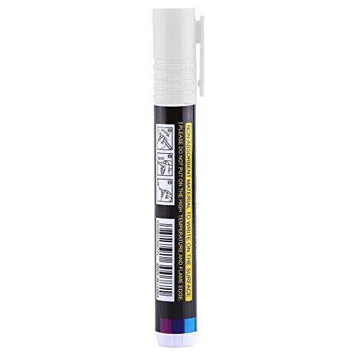 1 Stück Königin Bee Filzstift Hohe Qualität Kunststoff Markierwerkzeug Bee Keeping Werkzeuge Multi Farbe(White)