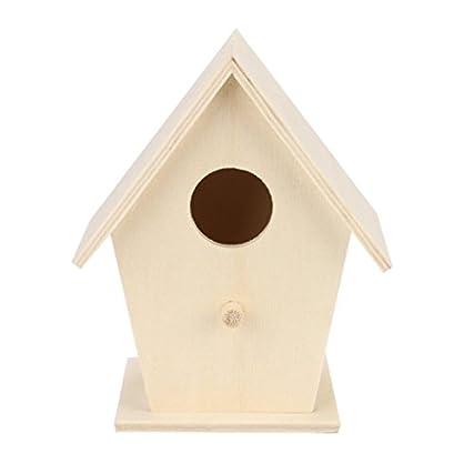 Winkey, Casetta per uccelli in legno, ideale come regalo di compleanno per gli appassionati di uccelli