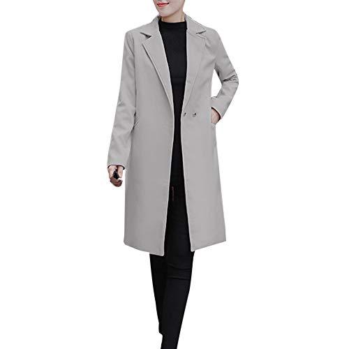 Tonsee  Femmes Veste, Mode Warmful Automne Hiver Veste Décontracté Parka Cardigan Slim Manteau Pardessus