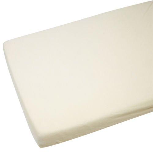 2x cama cuna Jersey Sábana Bajera para niños 100% algodón 140x 70cm cream-by For-your-Little-One