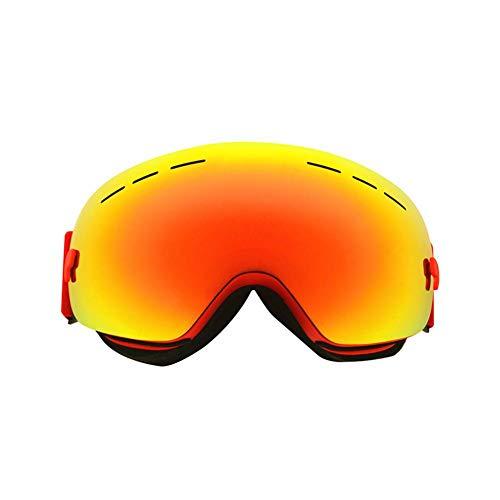 Occhiali da Sci da Donna&Uomo, Occhiali da Snowboard Globale Rivestimento Vento Maschera da Sci Unisex Snowboard Occhiali da Sci per Sport Invernali