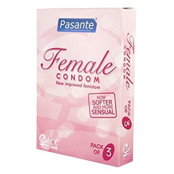 Pasante Frauen-Kondome, 3Stücken