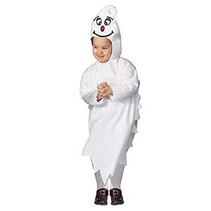 WIDMANN-Fantasmino - Disfraz de niño unisex, multicolor, (104 cm/2 - 3 años), 36158