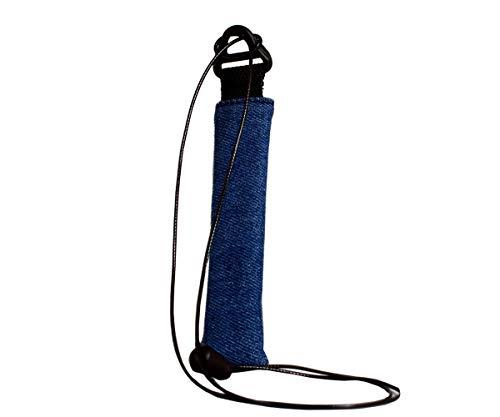 Plan B Funda Protectora vapeador Myblu Tejana - 12,5 X 3,3 cm cordón de 100 cm Azul Hecha a Mano en España