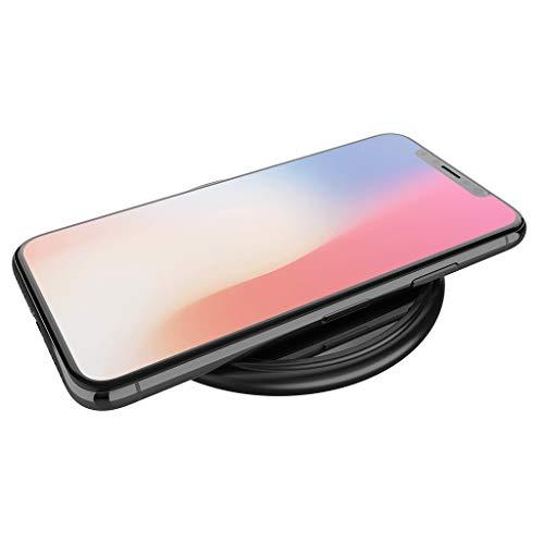 Jamicy® Fast Wireless Charger, Wireless Qi Ladegerät Induktive Ladestation Schnellladestation für Phone X /8/8 Plus, Samsung Galaxy Note 8/S8/S8 Plus/S7/S7 Edge und und alle Qi-fähige