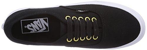 Vans U Authentic Slim (Gold Pop) Twil, Baskets mode mixte adulte Noir
