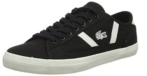 Wht Blk Herren Sneakers (Lacoste Herren Sideline 119 1 CMA Sneaker, Schwarz (Blk/Off Wht 454), 44 EU)