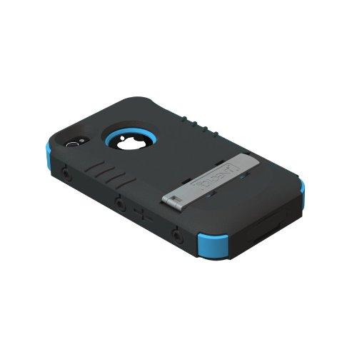 Trident Kraken II AMS Schutzhülle mit Gürtelhalter, für iPhone 4 / 4S blau