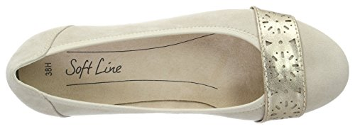 Softline Damen 22362 Pumps Beige (DUNE 405)