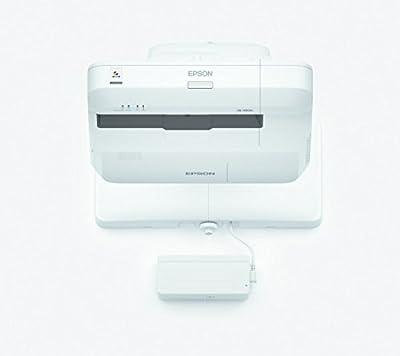 Epson 1460ui 3LCD WUXGA interactif Vidéoprojecteur focale 1920x 120016?: 104400lumens Haut-Parleur 16W Doigts Touch de Epson