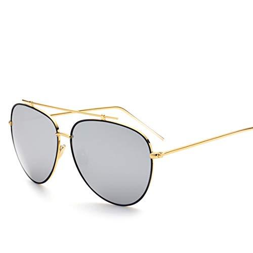Kamiwwso 80er Jahre Glas Retro Large Plastic Sonnenbrillen für das Angeln (Color : Black)
