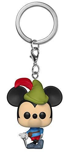 Funko- Keychain Disney Llavero Anilla Mickey Brave