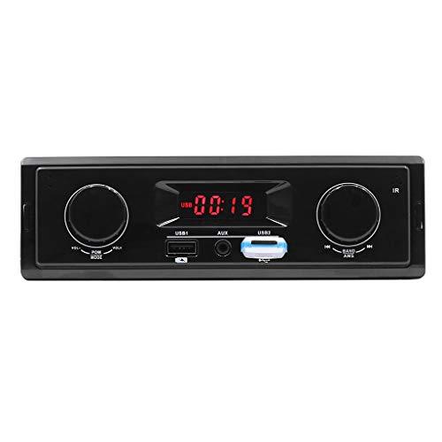 htfrgeds SWM-K501 12 V Satelliten Radio Receiver und Fernbedienung Auto MP3 BT Audio Karte FM Player Für Wuling Brot Auto CD Ändern DVD