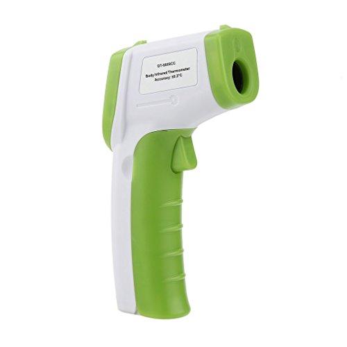 Winwill - termometro a infrarossi, senza contatto, schermo lcd, digitale green