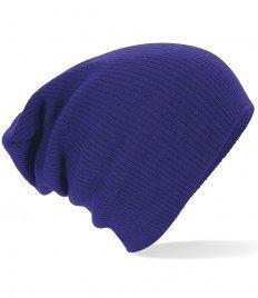 Beechfield Unisex Winter Beanie Mütze (Einheitsgröße) (Marineblau) (Mütze Winter Beanie)