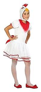 Atosa-24168 Disfraz Gallina, Color Blanco, 5 a 6 años (24168