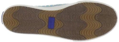 Keds per Double Dutch, motivo Sneaker, colore: azzurro/verde Lime Blu (blu)