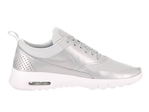 Nike 820244-003, Scarpe da Trail Running Bambina Grigio