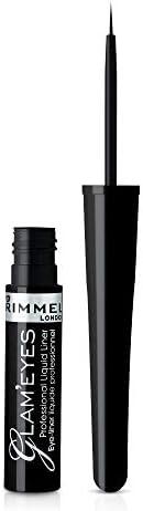 Rimmel London, Glameyes Professional Liquid Liner, 01 Black Glamour 4 ml