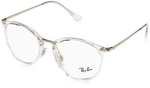 Ray-Ban Unisex-Erwachsene 0RX 7140 2001 51 Brillengestelle, Transparent,
