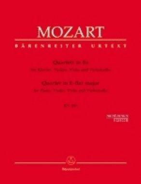 Quartett Es-Dur KV 493. Violine, Viola, Violoncello, Klavier