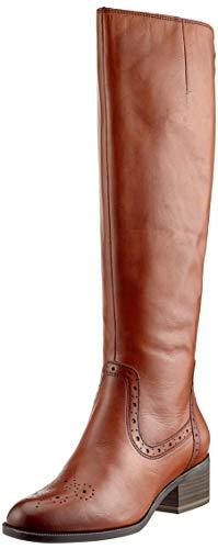 Tamaris Damen 25541-21 Hohe Stiefel, Braun (Cognac 305), 38 EU