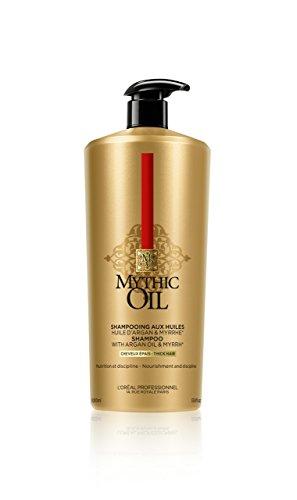 L`oreal Professional Mythic Oil Shampoo and Pump 1000ml (Dickes Haar)