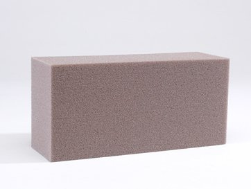 2 dry oasis foam bricks for artificial silk flowers