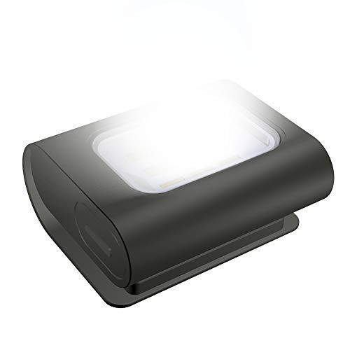 Luce di Sicurezza LED Running Light Ricaricabile USB Magnetica Impermeabile Lampada da Testa Petto con 4 Modalità di Illuminazione per Sport All'aperto Jogging Camminare Campeggio Pesca Lettura Corsa