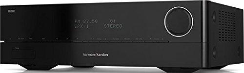 Harman/Kardon HK 3700 Hochleistungsfähiger 2-Kanal Stereo-Receiver mit 170 Watt Leistung,  iOS Direkt, UKW/MW-Tuner und Internet-Radio, USB und DLNA Anschlussmöglichkeiten - Schwarz