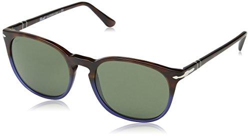 persol-unisex-sonnenbrille-po3007s-gr-medium-herstellergrosse-53-mehrfarbig-gestell-havana-glaser-gr