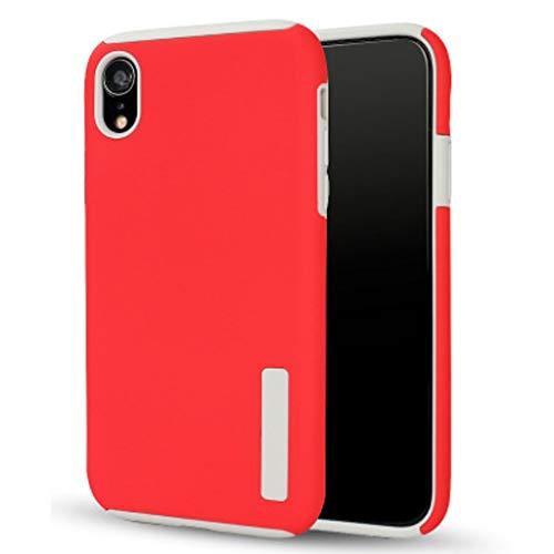 LIXXEZ IPhoneXr Mobile Shell iPhoneX 2-in-1-Peeling Mobile Shell iPhone8 Rutschfester Silikon-Handyschutz iPhone7plus für iPhoneXsMax (Color : Red, Size : IPhoneXsMax) Mobile Shell 2