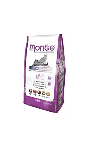 MONGE ADULT CAT POLLO & RISO 1,5 KG