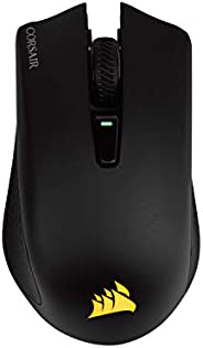 Corsair Harpoon Wireless Rgb Mouse Ottico da Gioco, Ricaricabile, con Tecnologia Slipstream, Sensore Ottico 10