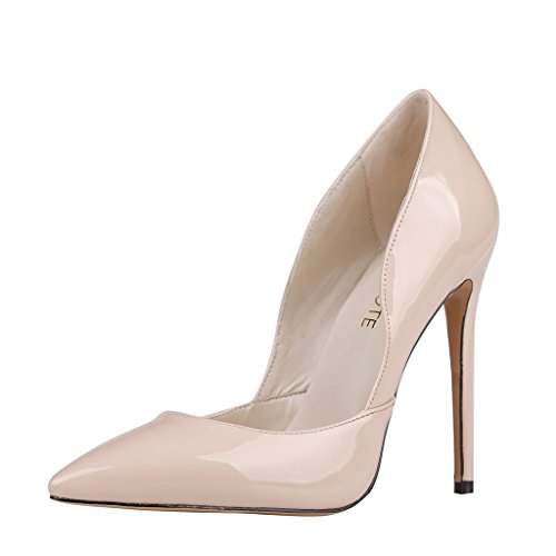 MERUMOTE , Chaussures à talon fin femme - Nude-matte