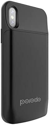 Porodo Power Case 3600mah for iPhone X - Black