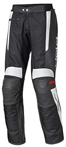 Held Takano Motorradtourenhose Leder, Farbe schwarz-weiss, Größe 50