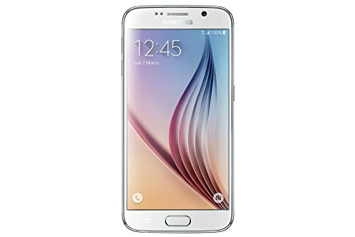 "Samsung Galaxy S6 - Smartphone libre Android (pantalla 5.1"", cámara 16 Mp, 32 GB, 3 GB RAM), blanco"