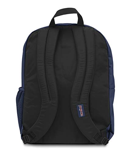 JanSport Big Student Backpack (Navy) (Navy Blue) Image 5