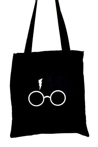 RUCKSACK oder JUTEBEUTEL Harry Potter Brille + Narbe