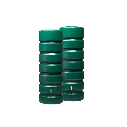 CLASSICO Gartentank-Set 1300 L, grün 2 x CLASSICO 650 L, inkl. Verbinder